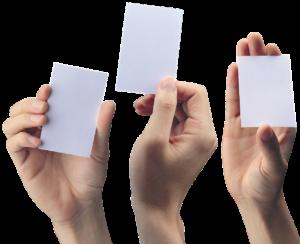 Visitekaartjes drukken