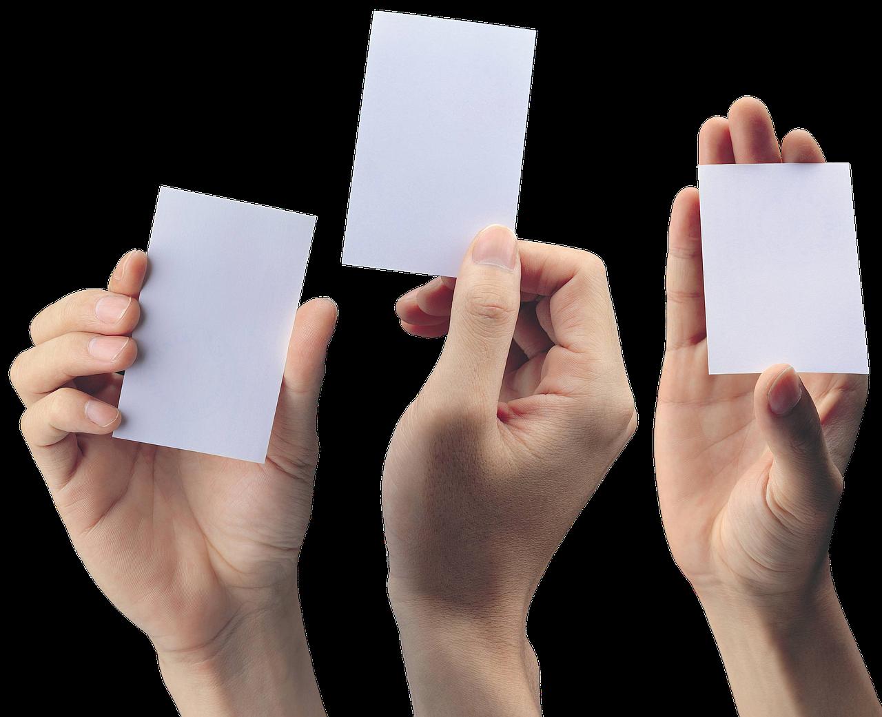 Zo maak je indruk met visitekaartjes drukken